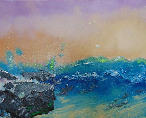 Wall Art - Painting - Jetty 3 by Rich Mason