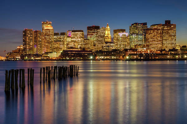 Wall Art - Photograph - Jetty In The Harbor by Michael Blanchette