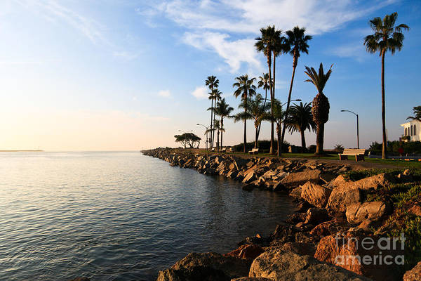 Balboa Photograph - Jetty On Balboa Peninsula Newport Beach California by Paul Velgos