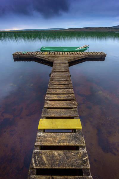 Photograph - Jetty by Peter OReilly