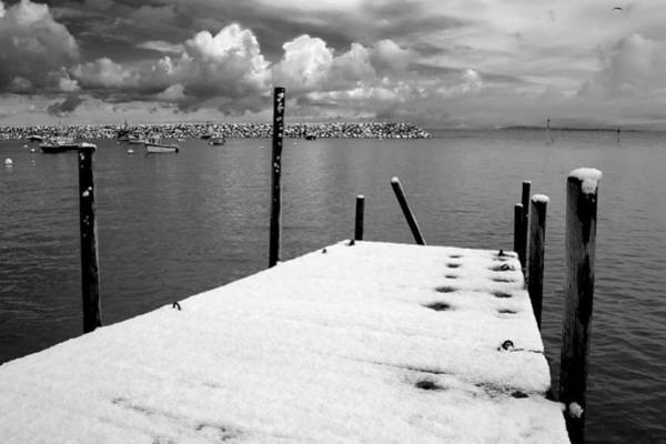 Photograph - Jetty, Rhos-on-sea by Peter OReilly