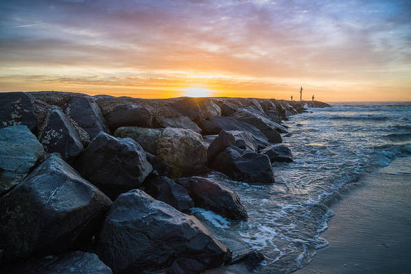 Avalon Wall Art - Photograph - Jetty Sky Candy by Kristopher Schoenleber
