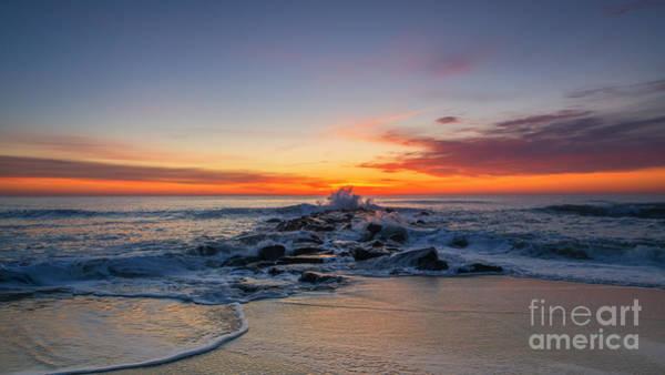 Jetti Wall Art - Photograph - Jetty Sunrise  by Michael Ver Sprill