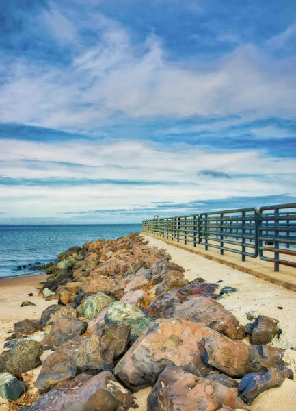 Photograph - Jetty Walk At Union Beach by Gary Slawsky