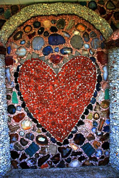 Desert Rose Photograph - Jewel Heart by Susanne Van Hulst