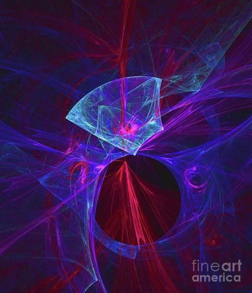 Fibonacci Spiral Digital Art - Jewel Of The Universe by Raphael Terra