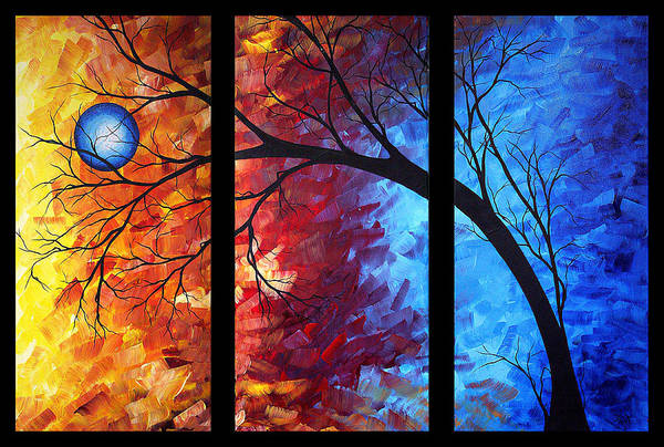 Wall Art - Painting - Jewel Tone II By Madart by Megan Duncanson