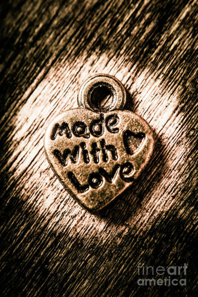 Jewellery Made With Love Art Print