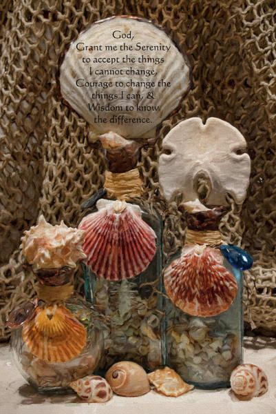 Serenity Prayer Digital Art - Jewels Of The Sea by Lauralee McKay