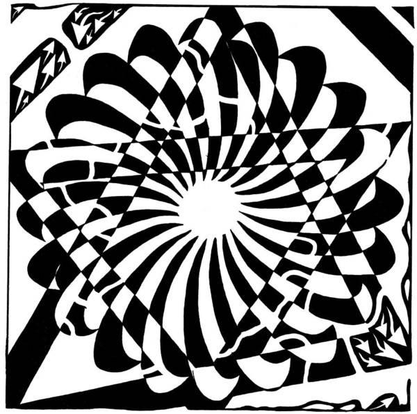 Jewish Pride Maze  Art Print by Yonatan Frimer Maze Artist
