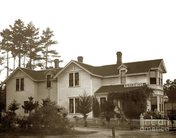 Photograph -  J. F. Gosbey, Built This House Between 1886-88 by California Views Archives Mr Pat Hathaway Archives