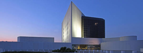 Photograph - Jfk Presidential Library by Juergen Roth