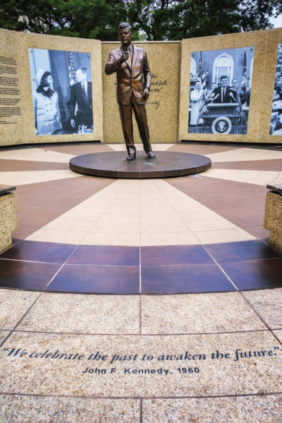 Wall Art - Photograph - Jfk Tribute Fort Worth by Joan Carroll