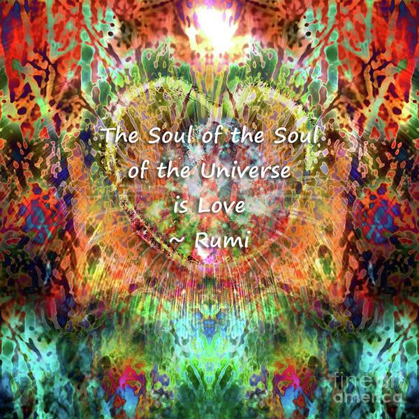 Digital Art - Soul Of The Soul by Atousa Raissyan