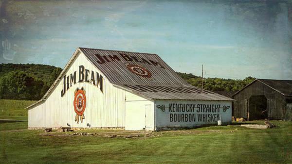Wall Art - Photograph - Jim Beam Barn - #1 by Stephen Stookey