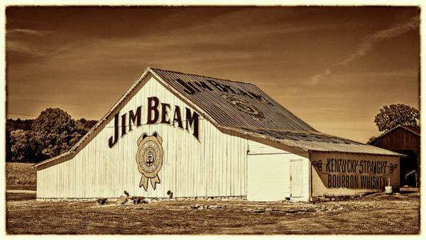 Wall Art - Photograph - Jim Beam Barn #4 by Stephen Stookey