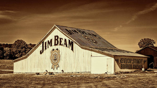 Wall Art - Photograph - Jim Beam Barn #5 by Stephen Stookey