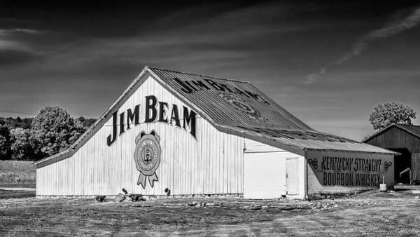 Wall Art - Photograph - Jim Beam Barn #6 by Stephen Stookey