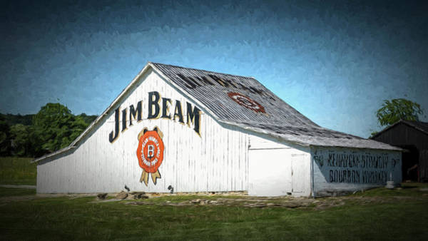 Wall Art - Photograph - Jim Beam Barn #7 by Stephen Stookey
