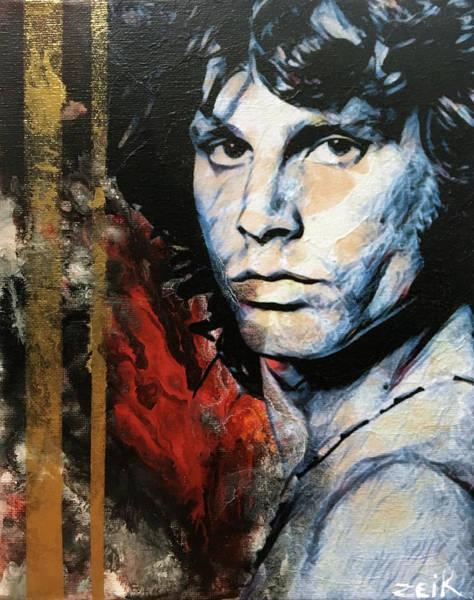 David Choe Painting - Jim by Bobby Zeik
