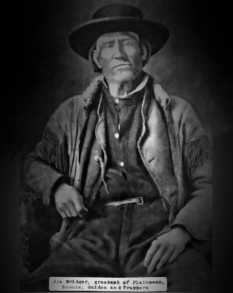 Photograph - Jim Bridger by John Feiser