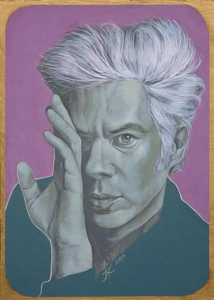 Painting - Jim Jarmusch by Jovana Kolic