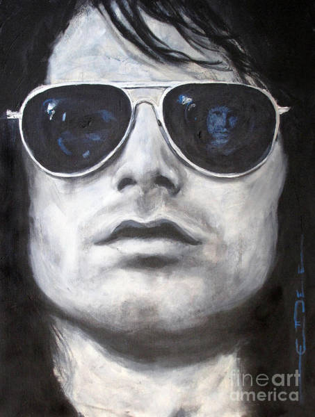 Painting - Jim Morrison IIi by Eric Dee