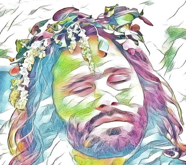 Digital Art - Jim Morrison by Jessie Art