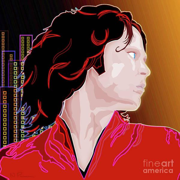 Revolting Digital Art - Mr Mojo Rising  by Neil Finnemore