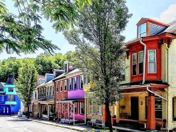 Photograph - Jim Thorpe Pa - Quaint Street by Susan Savad