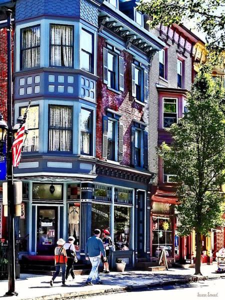 Photograph - Jim Thorpe Pa - Window Shopping by Susan Savad