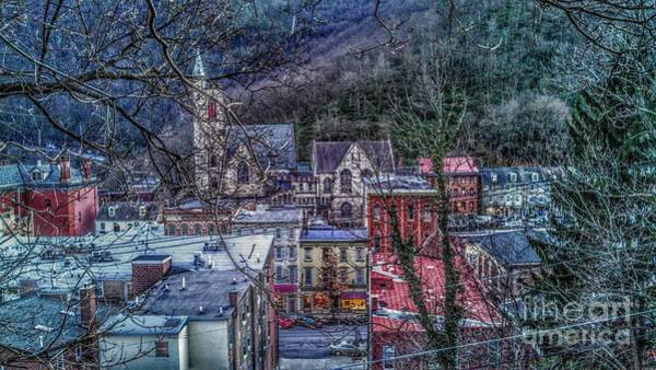 Photograph - Jim Thorpe Pennsylvania In Winter #1 by Christopher Lotito