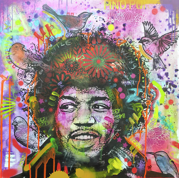 Painting - Jimi Bird Nest by Dean Russo Art