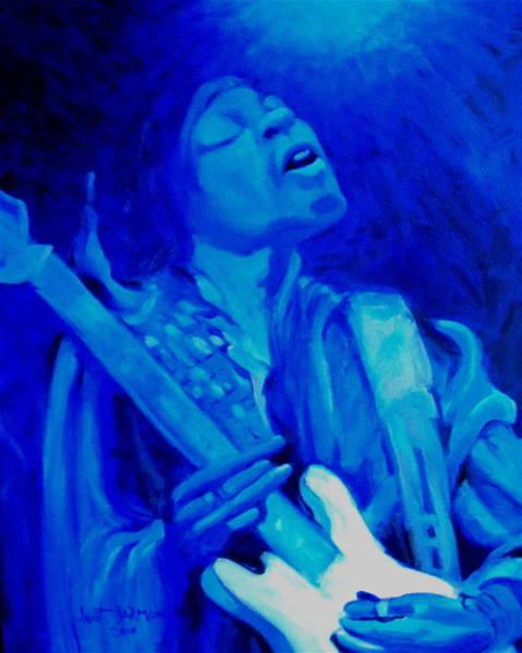 Painting - Jimi Hendrix by Jeanette Jarmon