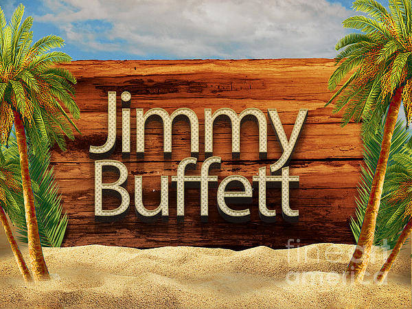 Wall Art - Photograph - Jimmy Buffett Palms by Edward Fielding