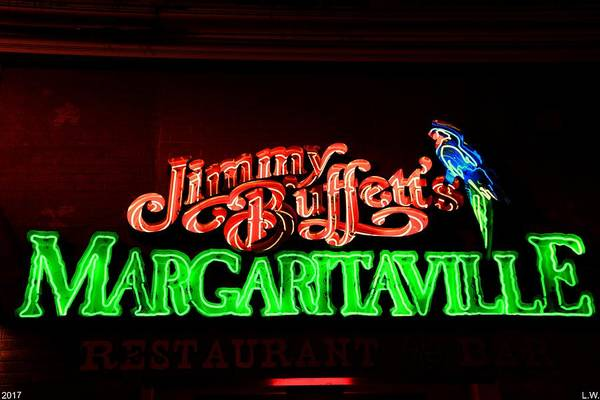Jimmy Buffett's Margaritaville Art Print