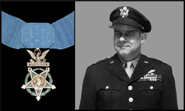 Air War Painting - Jimmy Doolittle And The Medal Of Honor by War Is Hell Store