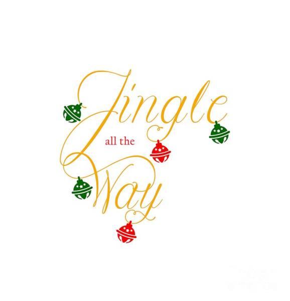Carol Singing Photograph - Jingle Bells by Gillian Singleton