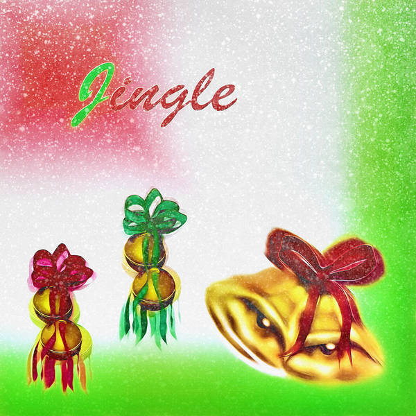 Christmas Season Wall Art - Digital Art - Jingle Bells  by Steve Ohlsen