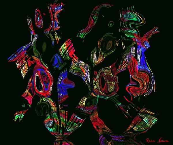 Digital Art - Jitter Bug by Rein Nomm