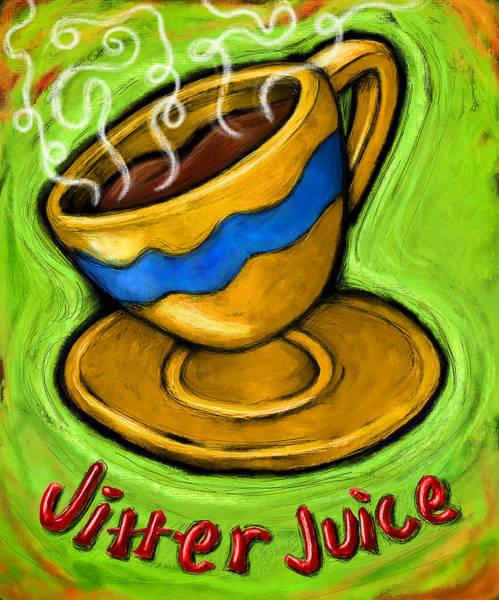 Java Wall Art - Painting - Jitter Juice by David Kyte