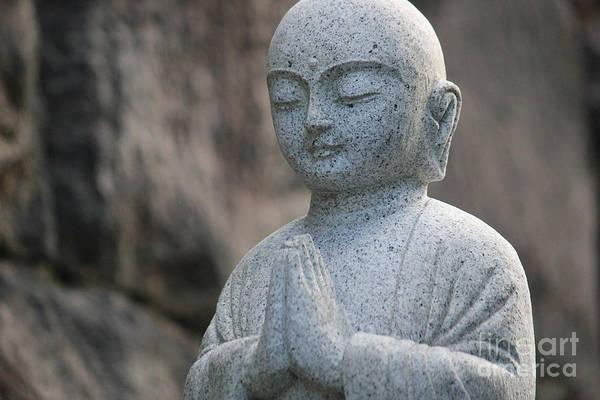 Photograph - Jizo Bodhisattva by Wilko Van de Kamp
