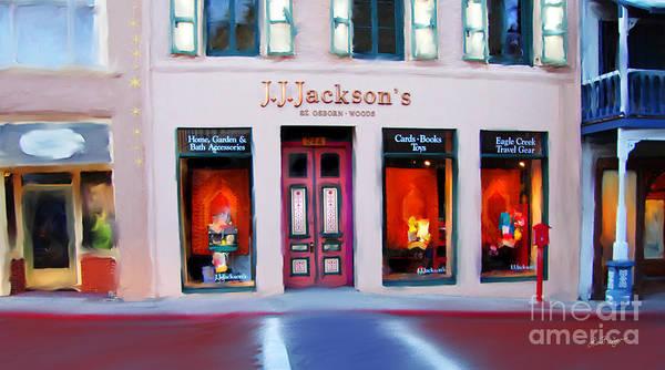 J.j. Jackson's Nevada City Art Print
