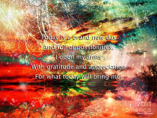 Digital Art - Gratitude by Atousa Raissyan