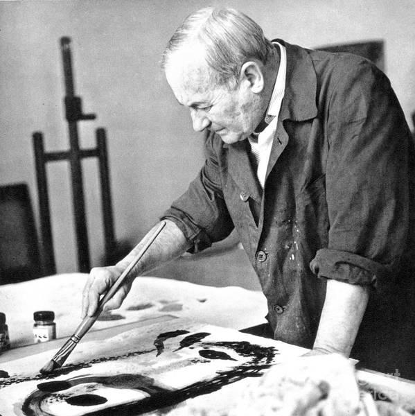 Photograph - Joan Miro (1893-1983) by Granger