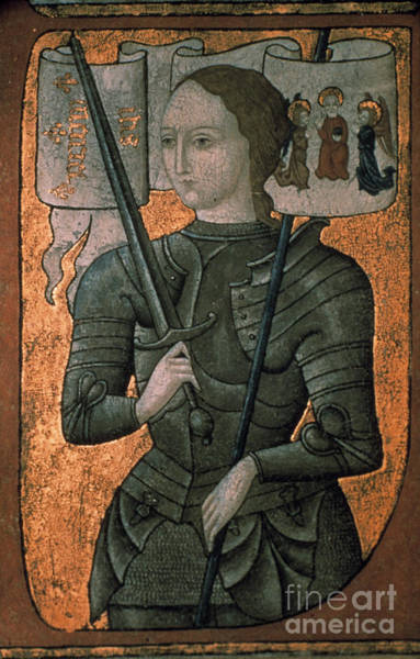 Painting - Joan Of Arc (c1412-1431) by Granger