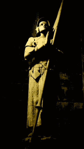 Photograph - Joan Of Arc by Laura Greco