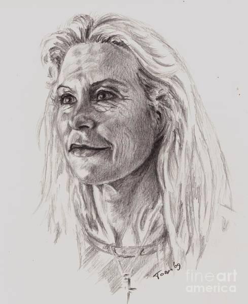 Drawing - Joan by Toon De Zwart