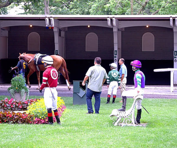 Photograph - Jockeys by  Newwwman