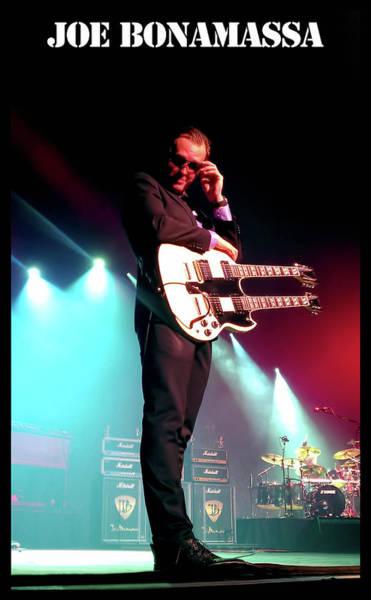 Guitar Neck Photograph - Joe B Concert by Peter Chilelli